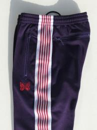 "Narrow Track Pant (Poly Smooth) ""Eggplant"""