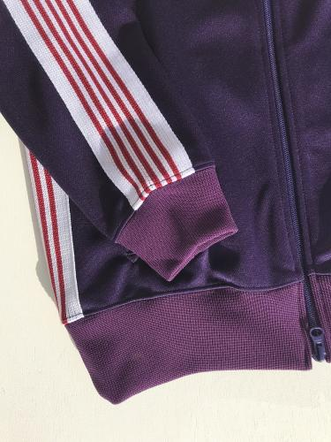 "Track Jacket (Poly Smooth) ""Eggplant"""