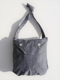 Shoulder Pouch (Cone Chambray)