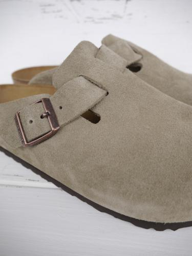 Boston (Taupe Suede)