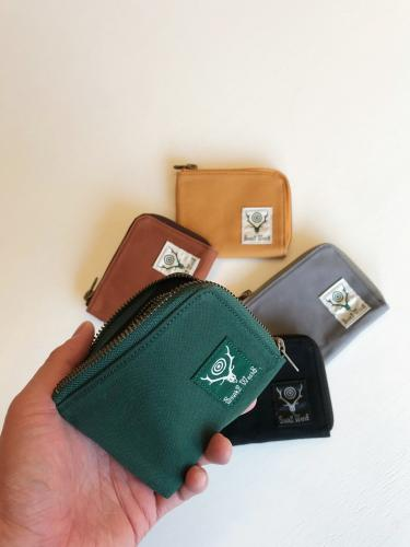 Coin Case (Cotton Canvas / Paraffin Coating)