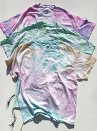【HERMOSA Tie Dye】 S/S T-Shirt w/ Drawstring