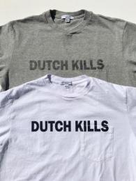 Printed Cross Crew Neck T-Shirt (Dutchkills)