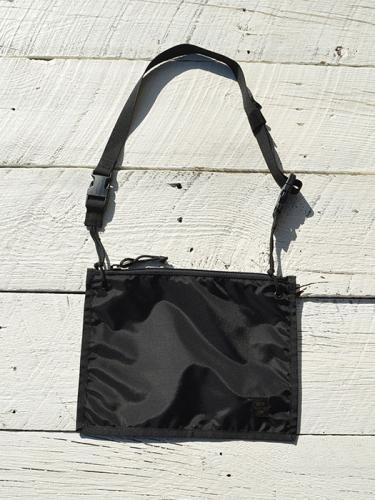 2WAY POUCH (Black)