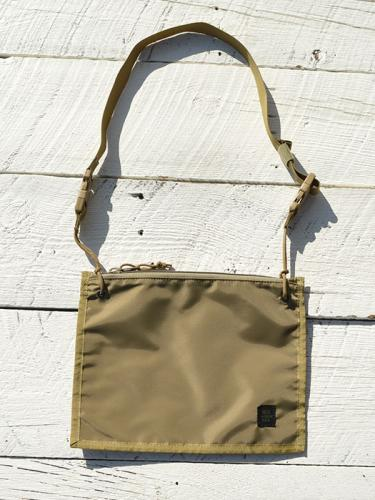 2WAY POUCH (Coyote Tan)
