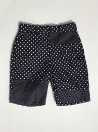 Ghurka Short (Big Polka Dot Broadcloth)