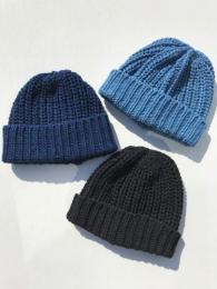 BOBBY CAP (INDIGO COTTON)