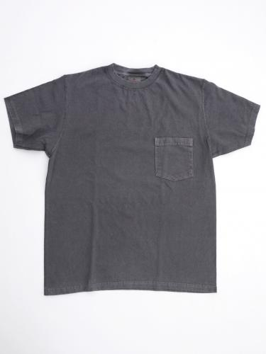 "S/S Crew Neck Pocket Tee ""Pigment Dyed"""