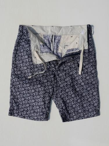 Ghurka Short  (Cotton Paisley)