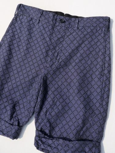 Cinch Short (Diamond Jacquard)