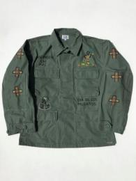 【OAXACA】 BDU Jacket (Hand embroidery)