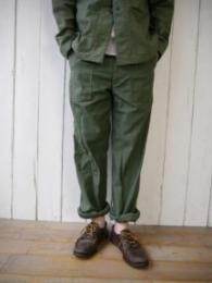 Fatigue Pants (Cotton Reversed Sateen)