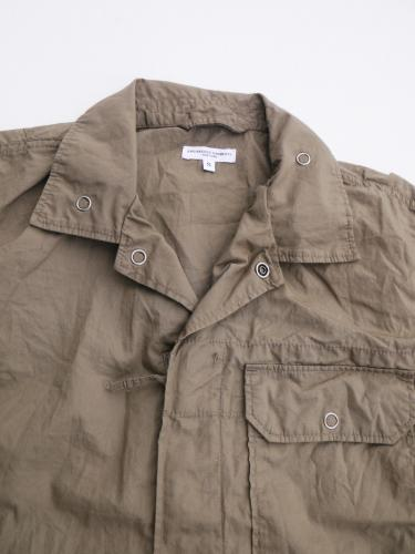 "Combi Suit (Superfine Poplin) ""Olive"""