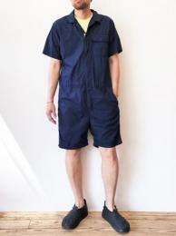"""Combi Suit (Superfine Poplin) """"Dk. Navy"""""""