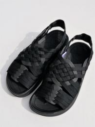 "【Malibu Sandals】 Canyon (Nylon Weave) ""Black"""