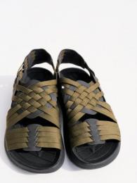 """【Malibu Sandals】 Canyon (Nylon Weave) """"Olive"""""""