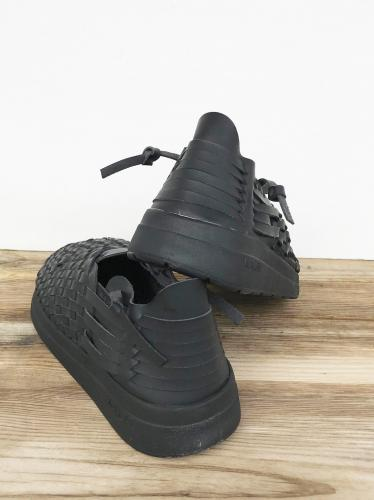 "【Malibu Sandals】 Latigo (Vegan Leather) ""Black"""