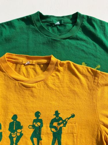 Printed Cross Crew Neck T-Shirt (Musicians)