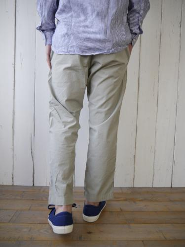 【 30% OFF】 Bare Foot Trouser (Light Grey)