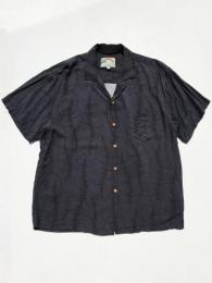 【Paradise Found】 S/S Shirt  (Banana Leaf)