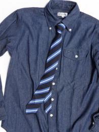 Silk Knit Tie  (Regimental St.)
