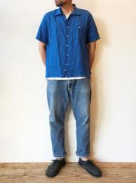 NAT-U-RAL別注 Amanda S/S Shirt (Linen)