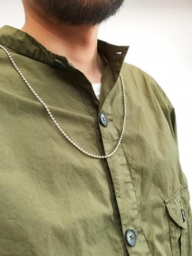 "【Lauren Tobey】 SS Ball Chain Necklace ""28"