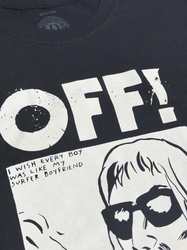 【OFF!】 Printed Crew Neck T-Shirt (Wasted Years)