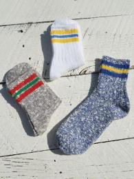 Slab Nep 3 Line Socks