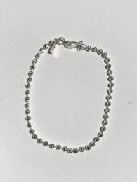 Facet Ball Chain Bracelet