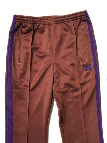 "Narrow Track Pant (Poly Smooth) ""Brown"""
