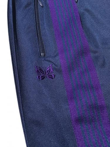 "Narrow Track Pant (Poly Smooth) ""Navy"""