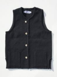 【TRUJILLO'S】 Relaxed Chimayo Vest (Black) 再入荷予定!!