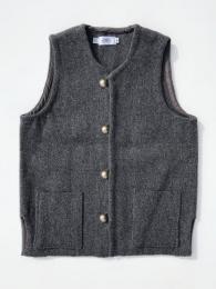 【TRUJILLO'S】 Relaxed Chimayo Vest (Dk. Grey)