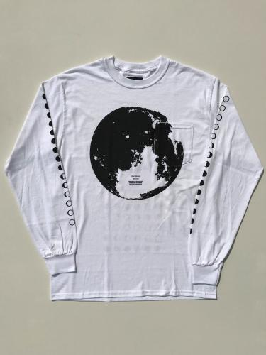 【Dead Feelings】 L/S Pocket T-Shirt (Moon Phase)