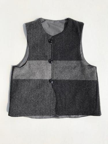 Over Vest (PC Poplin / Hv. Weight Big Plaid H.B)