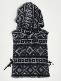 Hooded Interliner (Fair Isle Sweater Knit)