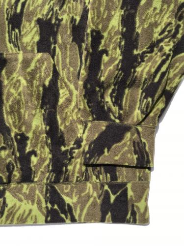 Warm Up Hoody (Poly Fleece / Tiger Camo)