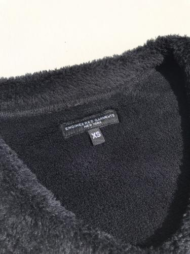 U Neck Popover (Poly Shaggy Fleece)