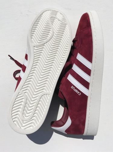 CAMPUS (Burgundy / White / White)