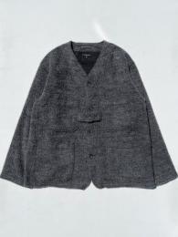 Cardigan Jacket (Wool Alpaca Fur)