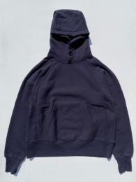 "Raglan Hoody (Cotton Heavy Fleece) ""Navy"""