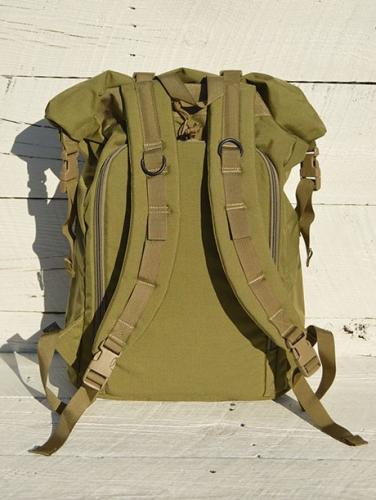 ROOL UP BACKPACK (Coyote Tan)