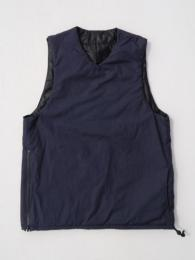 【MONITALY】 Reversible Insulated Vest (Vancloth)