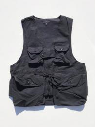 "Game Vest (Double Cloth) ""Black"""