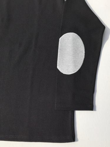 OUESSANT ELBOW PATCH (ブラック)