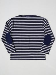OUESSANT ELBOW PATCH (ネイビー×ナチュラル)