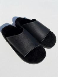 【monitaly × The Sandalman】  Sheepskin Slides