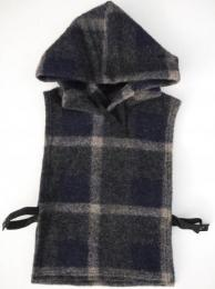 Hooded Interliner (Wool Knit Plaid)