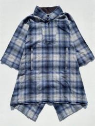 TL Poncho (Cotton Shadow Plaid Flannel)